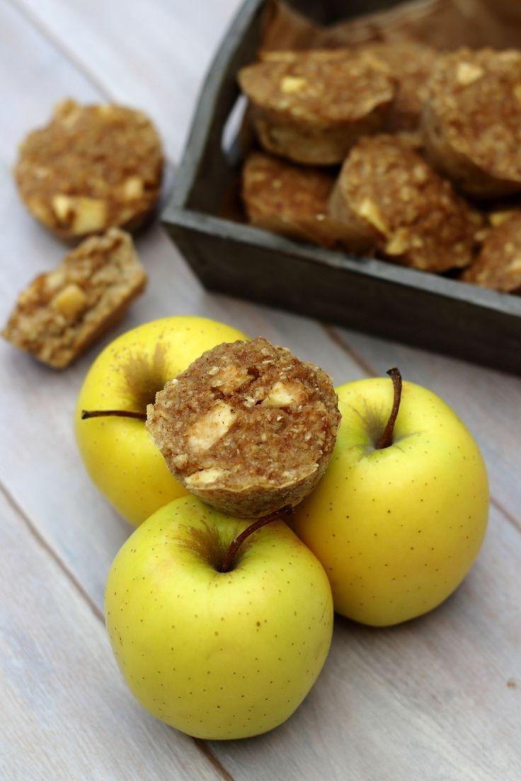 Muffins aux pommes et flocons d'avoine (sans sucre ajouté)