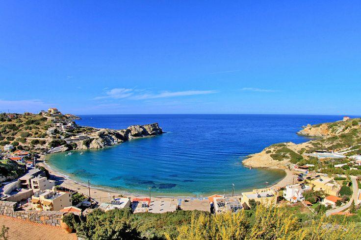 Lygaria Beach in Agia Pelagia, Heraklion, Crete