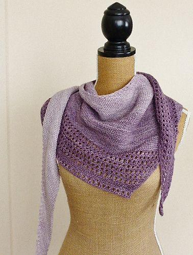 Ravelry: Influence Shawl pattern by Kelene Kinnersly