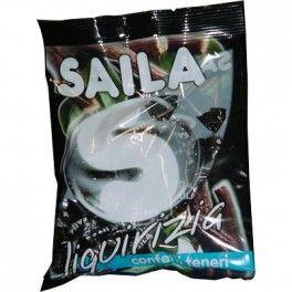 Caramelle Saila - menta liquirizia - 100 gr - 7263304 - Speedyufficio