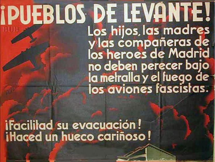 Republic propaganda poster | Spanish civil war 1936/39 #Afiches #Carteles #Spain #Guerra #Posters @deFharo