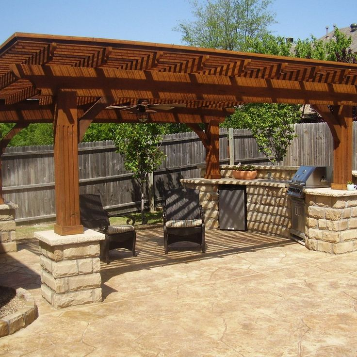 Completing your extensive backyard by applying wonderful outdoor patio designs can be a decent way out to attempt. You can include any outdoor living room or notwithstanding dining room relies on upon your need. This article today will demonstrate to you a few cases of patio treatment. The first is a Mediterranean patio with vast shelter on an extraordinary green yard. On its paver stone floor, two outdoor dining tables are included. One of them is overwhelmed in orange, the other on is…