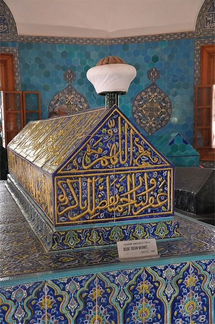 Bursa - Green Mosque Tomb - Mehmet the First by snapper chalmers on Flickr.