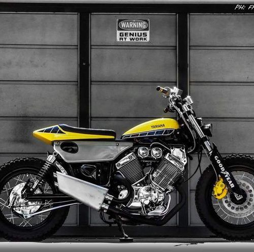 Yamaha Virago 535 Flat Track – 60 Aniversario