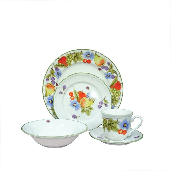 Noritake Autumn Fruits casual dinner set <3<3