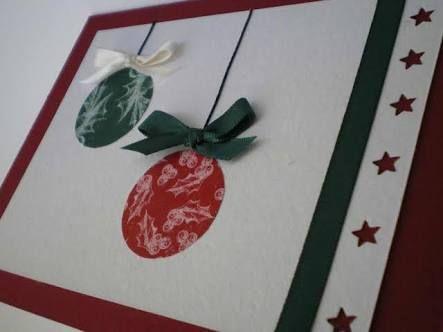 Resultado de imagem para tarjetas de navidad ARTESANALES