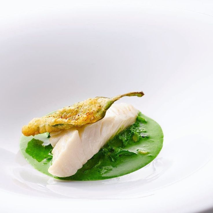 Fish Green Sauce by /maximilian/.carlo.schmidt at Jacobs Restaurant Hamburg #TrueFoodies #fortruefoodiesonly