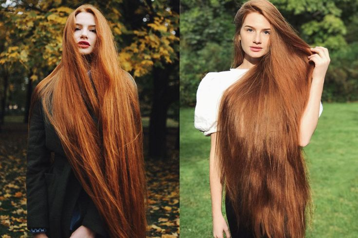 Russian Woman Anastasiya Sidorova Is A Real-Life Rapunzel With Hair Down to Her Knees | Allure #longhairgoals
