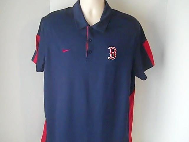 Boston Red Sox  L Nike Dry Fit Blue Shirt Mlb Baseball #Nike #BostonRedSox