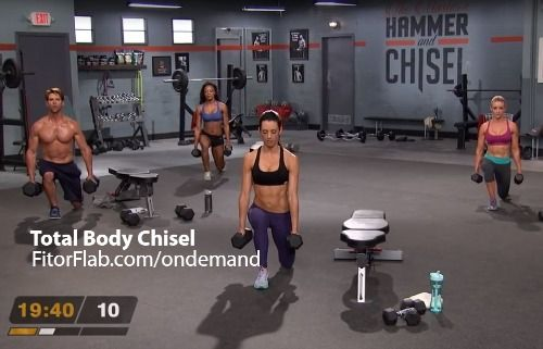 The Master's Hammer and Chisel is a new Beachbody workout created by two of Beachbody's Super Trainers. This new 60-day workout is aimed at helping you get a powerful, perfectly defined body. Body Beast-creator Sagi Kalev and 21 Day Fix-creator Autumn Calabrese are creators and trainer experts behind The Master's Hammer and Chisel.