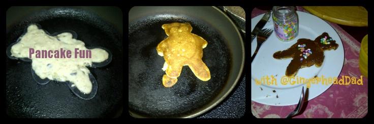 Pancake Fun with @GingerheadDad #recipe