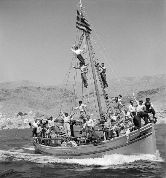 Dimitrios Harissiadis, Kalymnos 1950 © Benaki Museum Photographic Archive