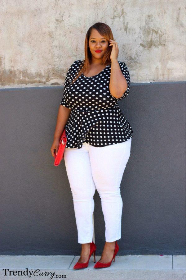 Trendy Curvy - Plus Size Fashion Plus Size Chic, Look Plus Size, Curvy Plus Size, Trendy Plus Size, Big Girl Fashion, Curvy Fashion, Look Fashion, Womens Fashion, Trendy Fashion