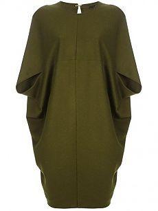 Как сшить уютное платье-кокон (выкройка) — Рукоделие