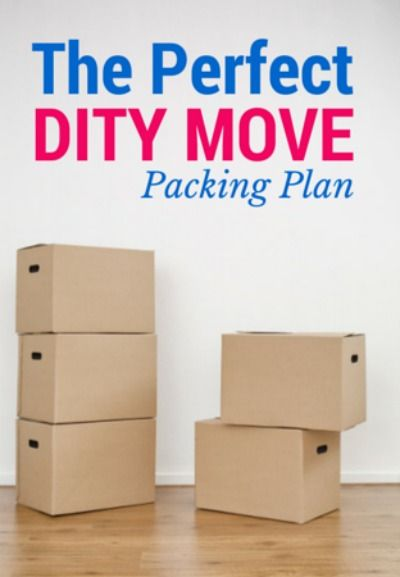 Are you ready to tackle your first DITY move? If so, you will not want to miss the DITY move packing plan.