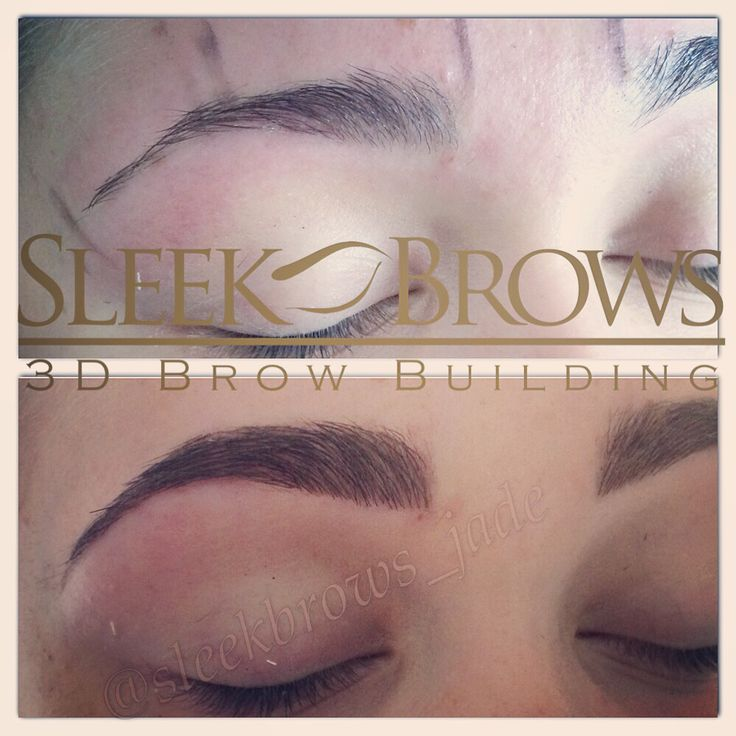 Sculpt and Build, Sleek Brows, Leeds WestYorkshire. Transform your brows
