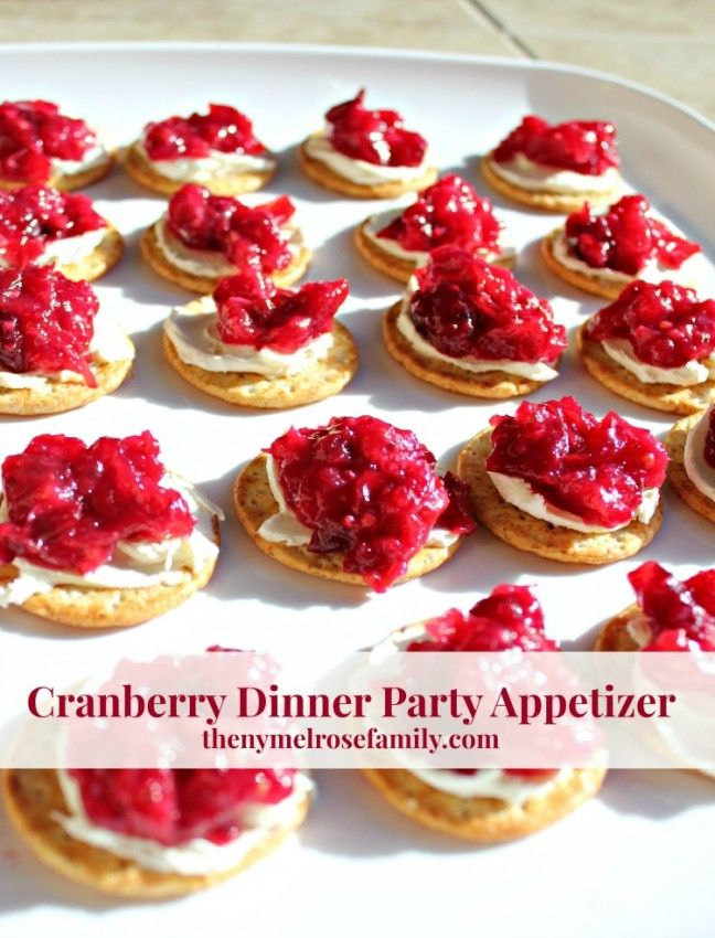 dinner party recipes cranberry dinner appetizer recipe appetizers 12414
