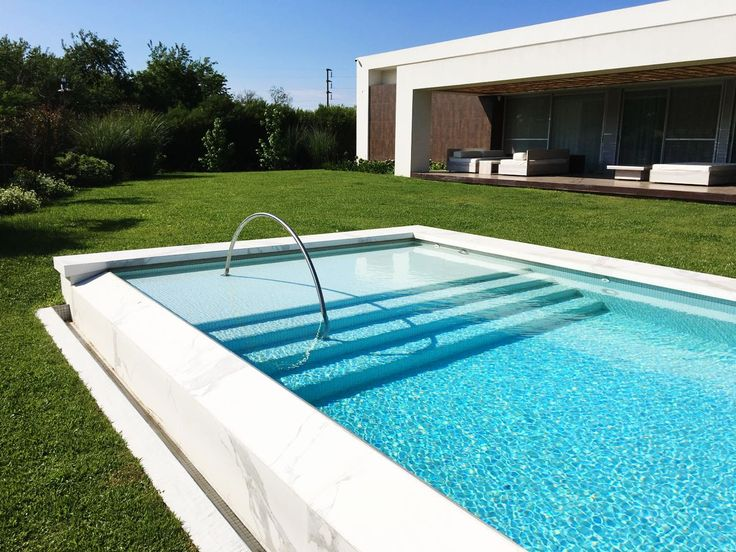 Best 25 piscinas de acero ideas on pinterest cerca de - Piscina acero inoxidable ...