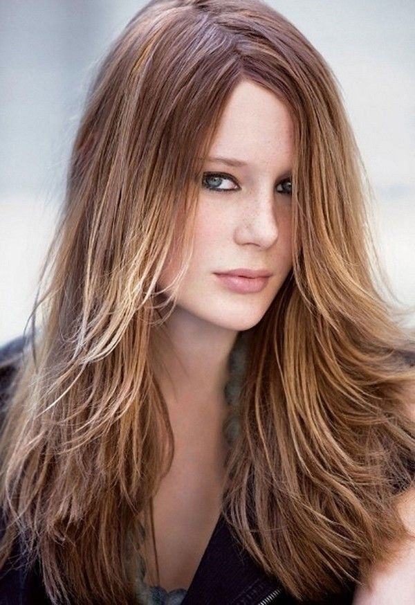 7 best Long horizontal layers images on Pinterest | Long hair, Hair ...