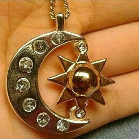 Medalinha da Luna, Luna e a Sol♡♡♡♡