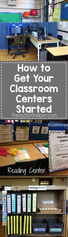 Get the prep started now! Here is the first in a series of posts on setting up your autism classroom. Great information. Read more at: http://theautismhelper.com/get-classroom-centers-started-setup/