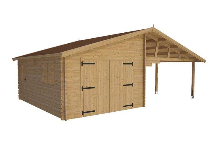 Pi di 25 fantastiche idee su casette da giardino su for Idee aggiuntive di garage allegato