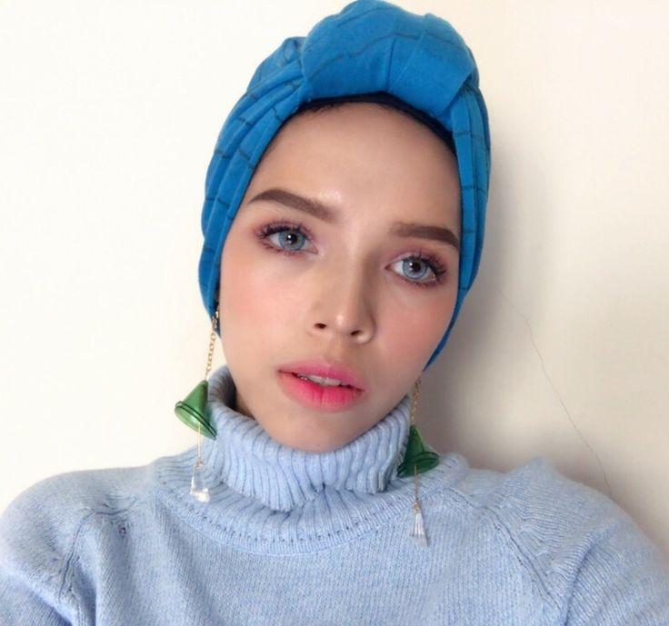 #HijabFashion #HijabStyle #TurbanStyle #HijabEarings #EaringsLover