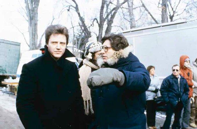David Cronenberg directing Christopher Walken in The Dead Zone (1983)