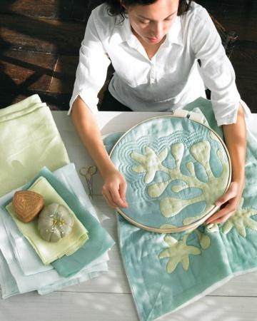How to make a Hawaiian Quilt Pillow.
