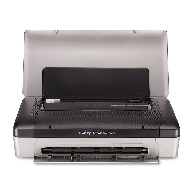 Hp Officejet  Mobile Printer Bluetooth Iphone