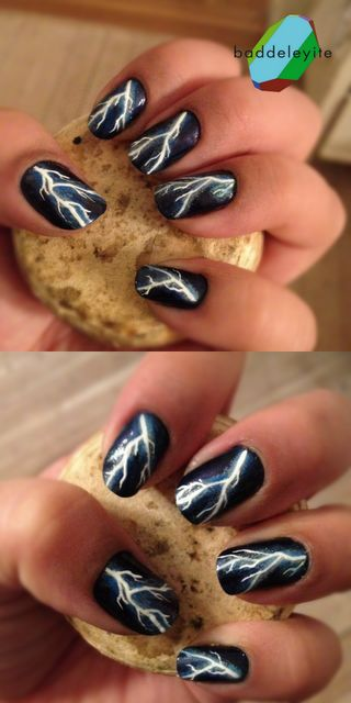 Did not know how good I am at doing nails until I tried the other nail tutorial I pinned. Then I did this one on my roommate last night. I did AWESOME. And I know I did haha.