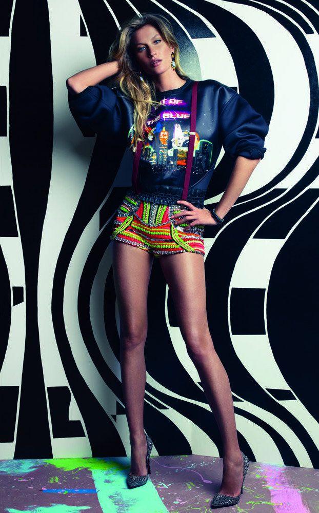 Gisele Bundchen Tags Up Vogue Brazils July 2012 Issue by Patrick Demarchelier