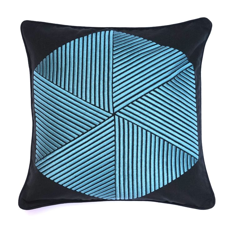 Hexagon Cushion - Cushions - Soft Furnishings - Home #GrandDesignsHeals