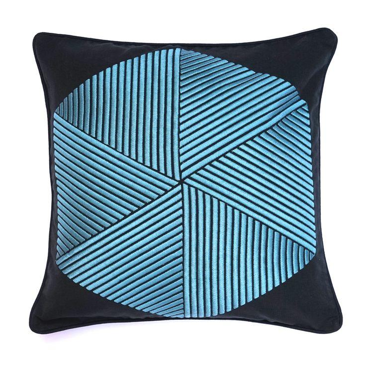 Hexagon Cushion - Cushions - Soft Furnishings - Home #GrandDesignsHeals
