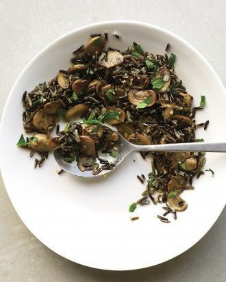 wild rice with mushrooms and parsley wild rice recipes fast recipes ...