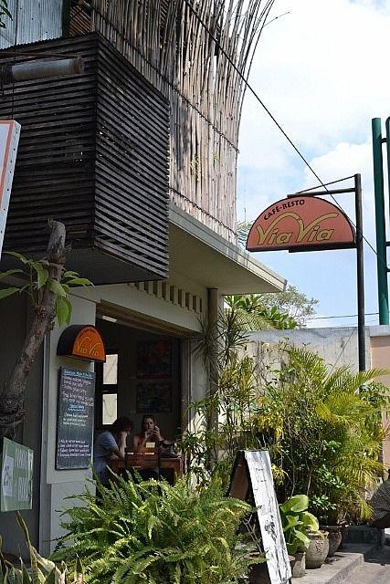 Yogyakarta: Via Via Cafe-Resto