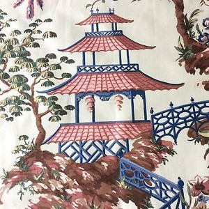 17 Best Ideas About Chinoiserie Fabric On Pinterest