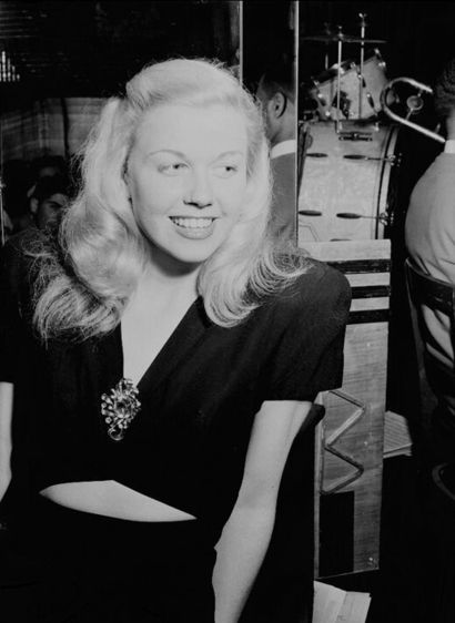 Doris Day...22-year-old Doris Day was well-known as a singer in 1946 when she was photographed by Gottlieb, but her film career did not begin until two years later.  Day was approached about a movie role in 1948 after she sang at a private party at the home of composer Jule Styne who recommended her for a role in Romance on the High Seas.  After a failed first marriage, Day had intended to give up show business altogether and return to life with her family in Ohio.