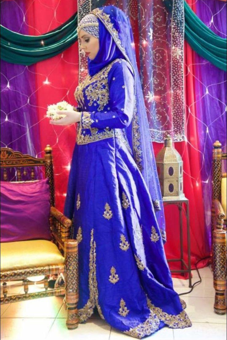 Bridal hijab