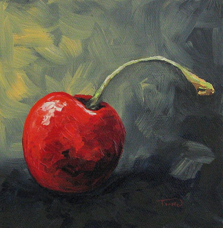 I have always liked food painting