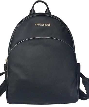 1cd310e9768e Get one of the hottest styles of the season! The Michael Kors Abbey Large  Black Nylon Backpack is a top 10 member favorite on Tradesy.