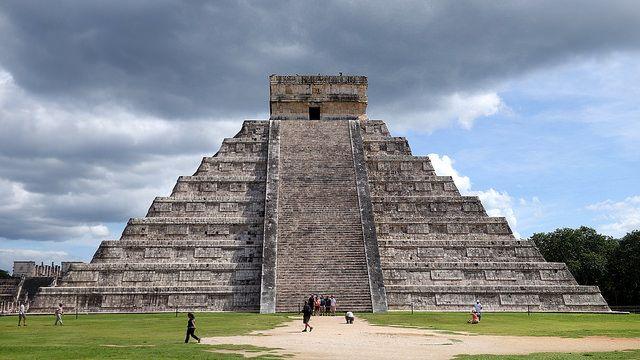Pyramid at Chichen Itza, Cancun, Mexico