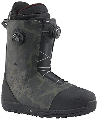 Burton Ion Boa Snowboard Boot 2018 - Men's:   The legendary Ion raises the bar yet again with the distinction of being the only men's Burton boot to feature the ultimate zonal fit control of the High-Power Focus Boa system.