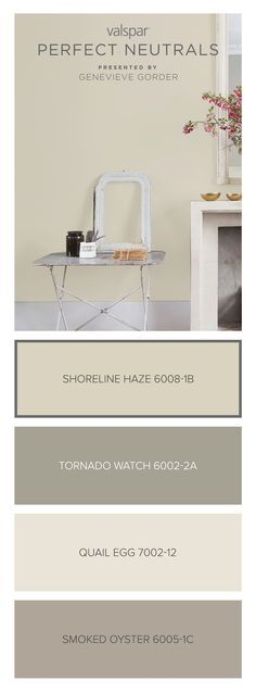 Heres A Tip From Genevieve Gorder Shoreline Haze Is Light Beige That