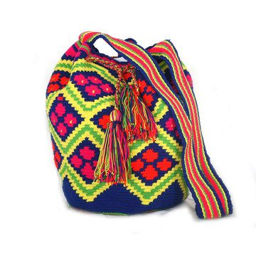 Risas Wayuu Mochila Bag www.colombofashion.nl