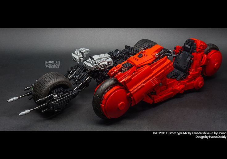 """BatPod custom typr Mk.II & Kaneda's bike RUbyHound by HaeunDaddy"" by seter82: Pimped from Flickr"