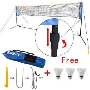 Mini Tennis Nets, Badminton Net, Volleyball Net with stand / frame, SFN01: Amazon.co.uk: Toys & Games