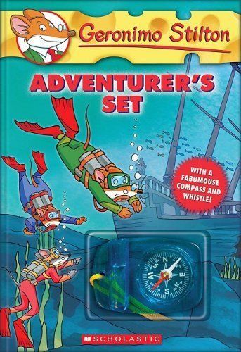 Geronimo Stilton Adventurer's Boxed Set (for Deklan)