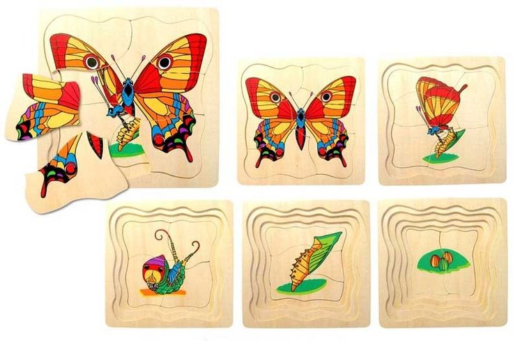 Fun Factory - Layered Puzzle Butterfly #EntropyWishList #PinToWin I love butterflies and will pass my love for them onto my daughter