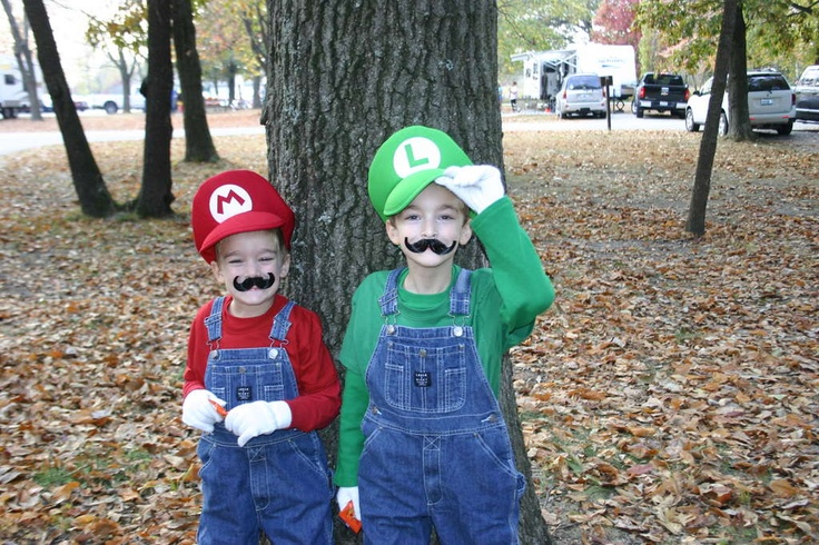 Mario costumes with sound effects!